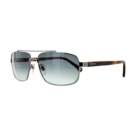 Men's Pilot Sunglasses // Havana + Gray Gradient