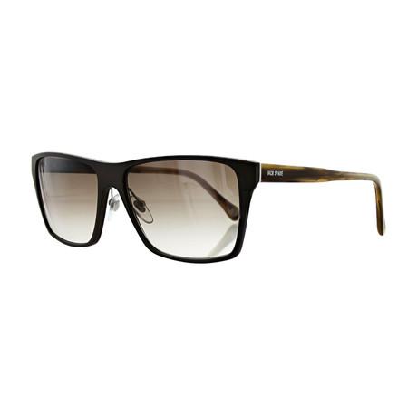 Men's Square Sunglasses // Matte Brown
