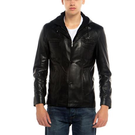 Cockatoo Leather Jacket // Black (XS)