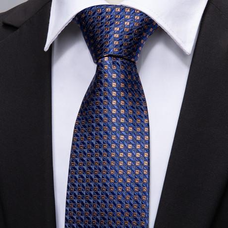Brivey Silk Tie // Navy
