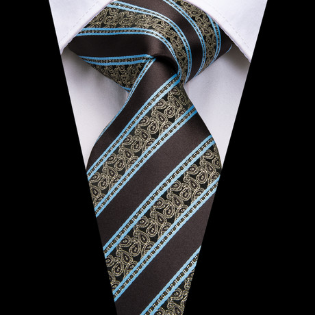 Wilde Handmade Silk Tie // Black