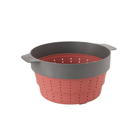 """Leo 10"""" Silicone 2-in-1 Steamer and Strainer"""
