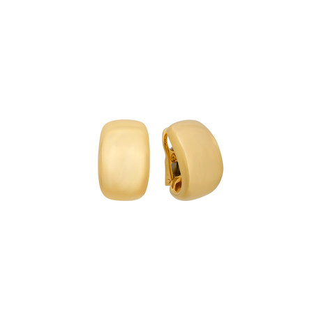 Cartier 18k Yellow Gold Earrings // Pre-Owned