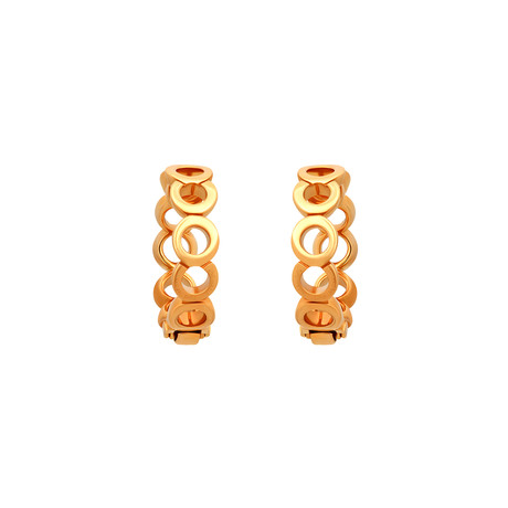 Chanel 18k Yellow Gold Coco Earrings // Pre-Owned