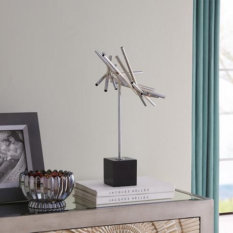 Modern Wind Propeller // Chrome