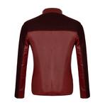 Leather Jacket // Bordeaux (2XL)