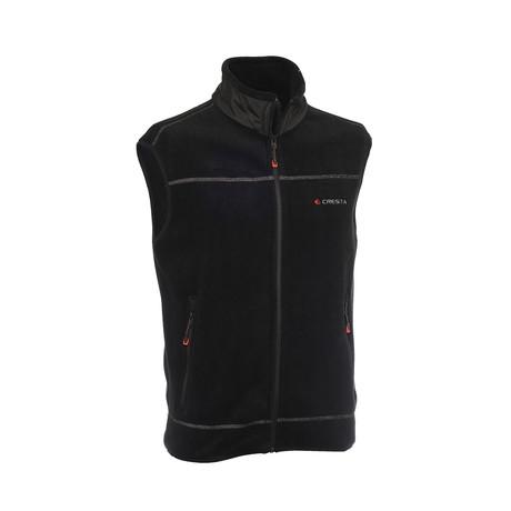 Fleece Vest // Black (S)