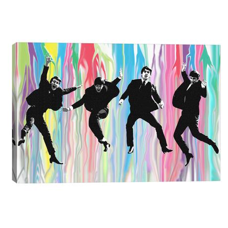 """Beatles Jump // Gary Hogben (26""""W x 18""""H x 1.5""""D)"""