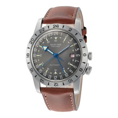 Glycine Airman Vintage The Chief GMT Automatic // GL0183