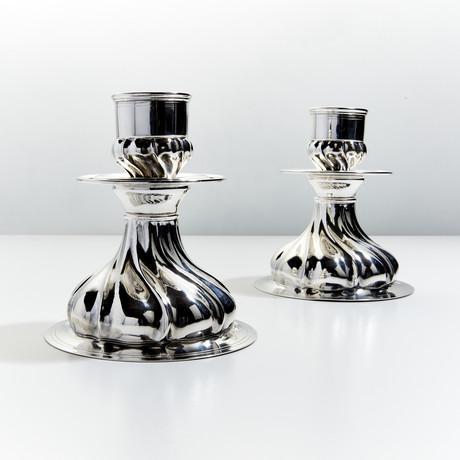 Prestigio Mario Decorative Candlestick I // Set of 2