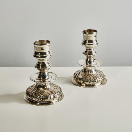 Prestigio Mario Decorative Candlestick III // Set of 2