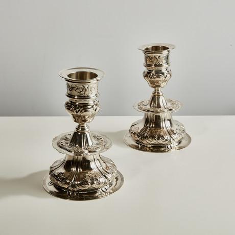Prestigio Mario Decorative Candlestick II // Set of 2