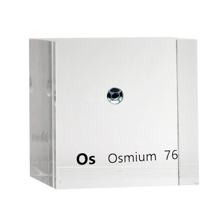 Lucite Cube // Osmium