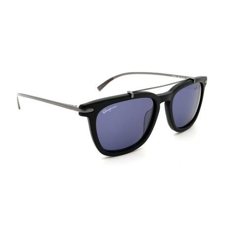 Men's SF820S-002 Square Sunglasses // Matte Black