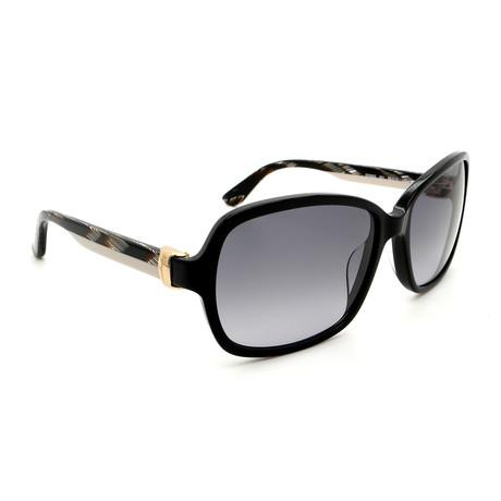 Women's SF606S-001 Square Sunglasses // Black