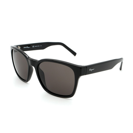 Men's SF959S-001 Sunglasses // Shiny Black + Gray