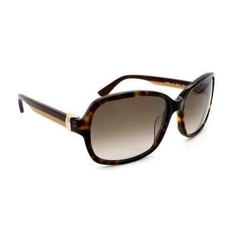 Women's SF606S-214 Square Sunglasses // Black