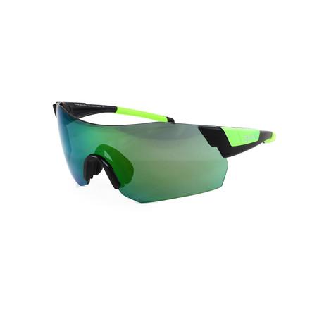 Smith // Men's Pivlock Arena Sunglasses // Black + Green
