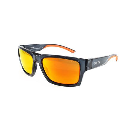 Smith // Men's Outlier Sunglasses // Black + Orange