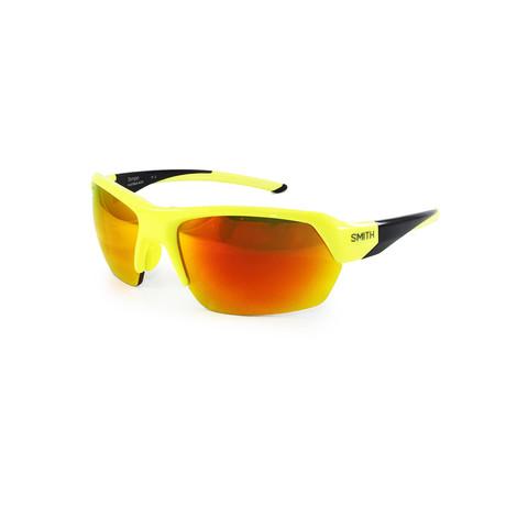 Smith // Men's Tempo Sunglasses // Black + Yellow + Orange