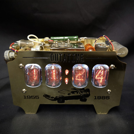 Back to the Future Nixie Clock