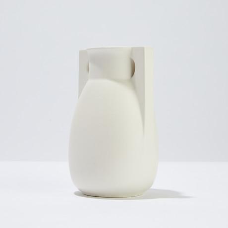 Teco 2 Buttress Vase (Green)
