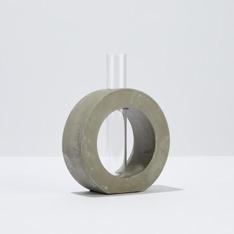 Org Bud Vase // Circle (Small)