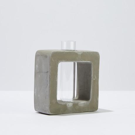 Org Bud Vase // Square (Small)