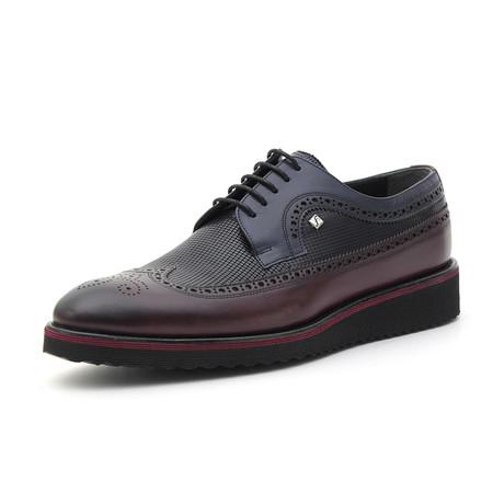 Kinsey Classic Shoe // Bordeaux + Navy (Euro: 39)