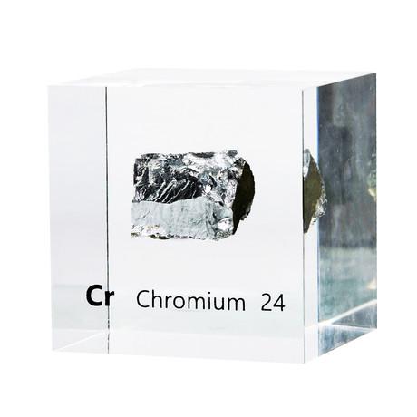 Lucite Cube // Chromium