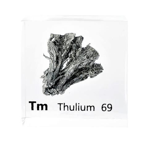 Lucite Cube // Thulium