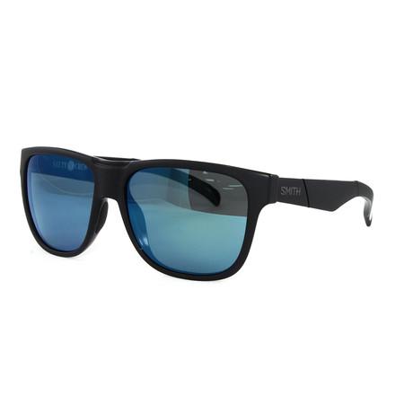 Smith // Men's Polarized Lowdown Sunglasses // Matte Black