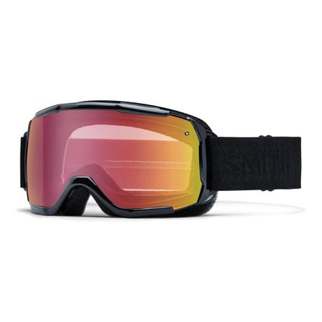 Smith // Unisex Showcase OTG Sunglasses // Black Eclipse + Red Sensor Mirror