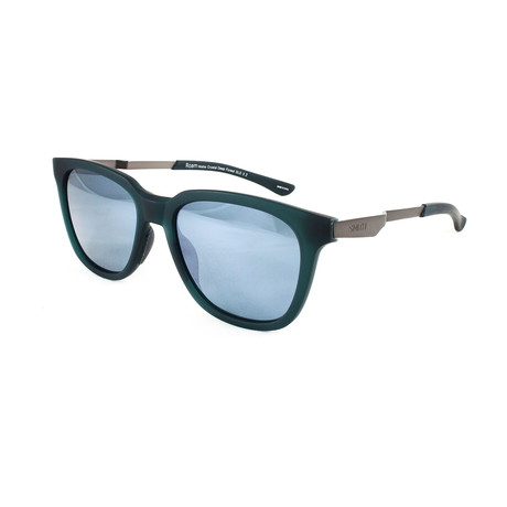 Smith // Unisex Polarized Roam Sunglasses // Matte Crystal + Forrest