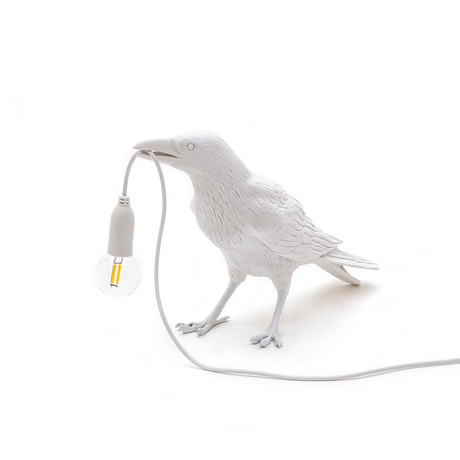 Bird Lamp // Outdoor // White // Waiting