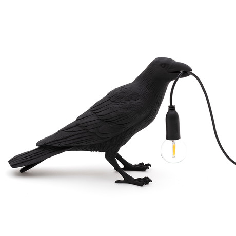 Bird Lamp // Black // Waiting