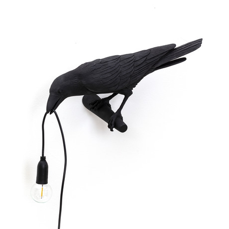 Bird Lamp // Black // Hanging