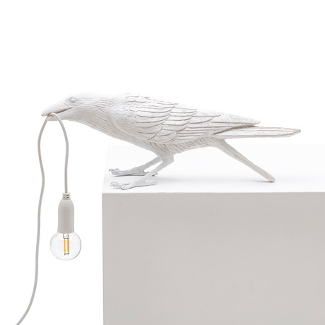 Bird Lamp // White // Playing