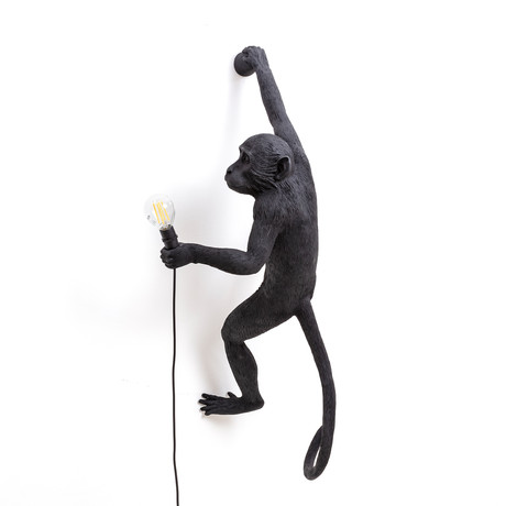 Monkey Lamp // Outdoor // Black // Hanging #5