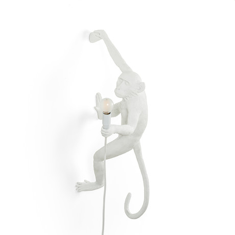 Monkey Lamp // Outdoor // White // Hanging #5