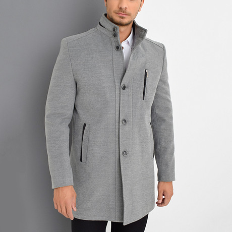Dublin Overcoat // Gray (Small)