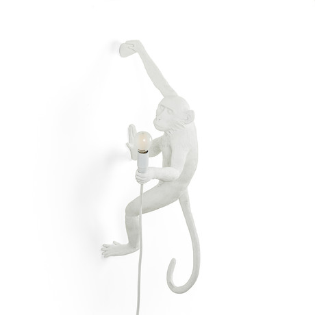 Resin Monkey Lamp // Hanging #5