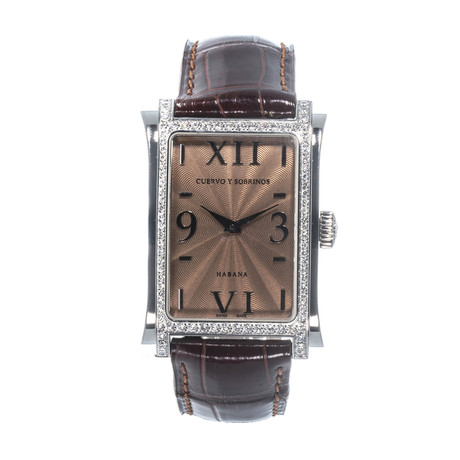 Cuervo y Sobrinos Ladies Prominente Classico Quartz // 1010.1C0GQ // Store Display