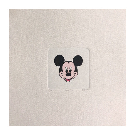 Mickey Mouse Hand Painted Sowa & Reiser Etching #D/500