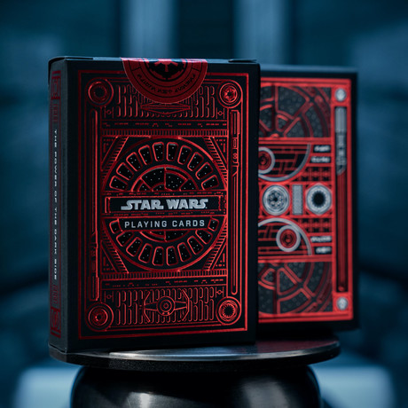 Star Wars Playing Cards // Dark Side // Set of 2