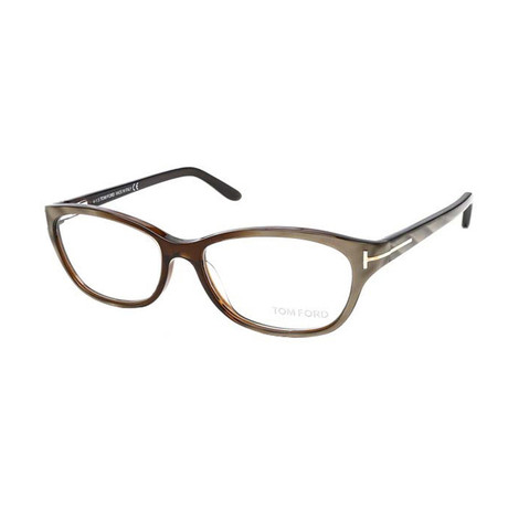 Men's Acetate Optical Frames // Brown + Gray