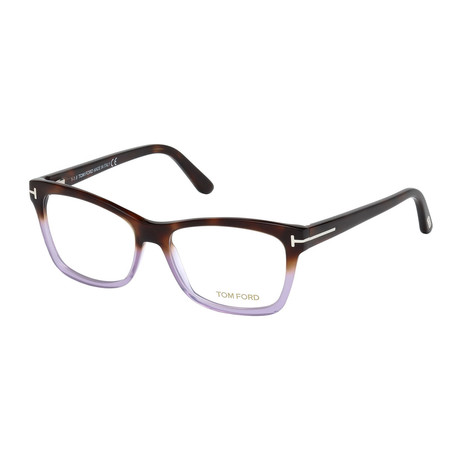 Women's Acetate Optical Frames // Havana + Smoke + Lilac (53-15-140)