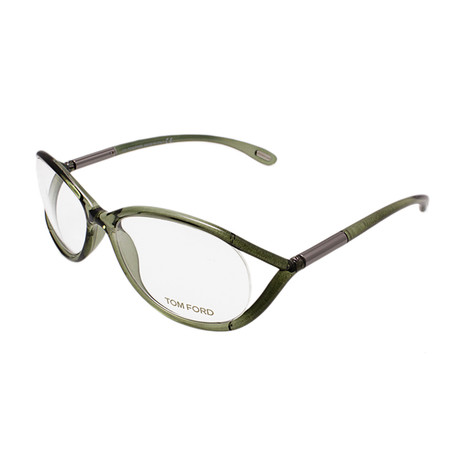 Women's Acetate Optical Frames // Crystal Green