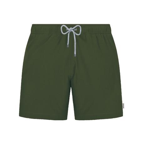 Solid Swim Short // Olive (S)