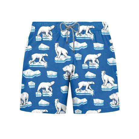 Ice Bear Swim Short // Blue (S)